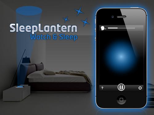 endormez vous facilement gr ce la lumi re projet e par votre t l phone sommeil. Black Bedroom Furniture Sets. Home Design Ideas